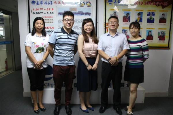 北京环球度假区销售副总监一行莅临嘉华旅游参观、交流